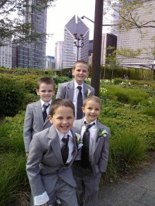 Me and my cousins in Chicago.