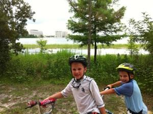 Disney bike trail