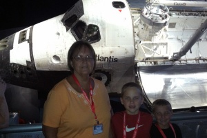 KSC-Atlantis-Family