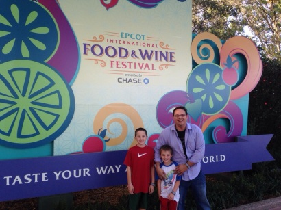 Epcot Food and Wine Festival.