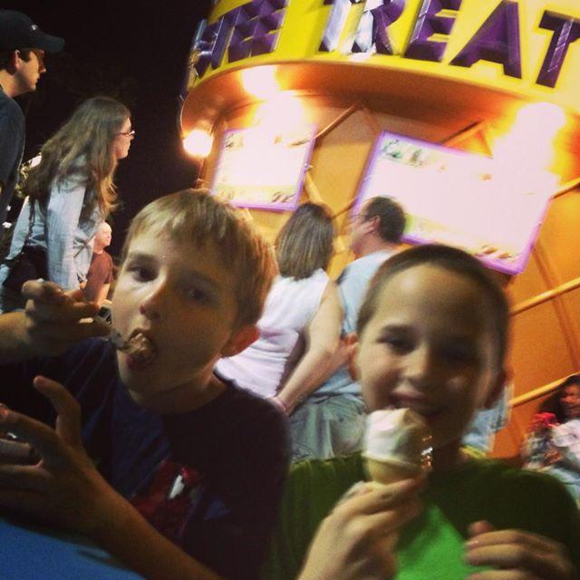 Ice cream at Twistee Treat!