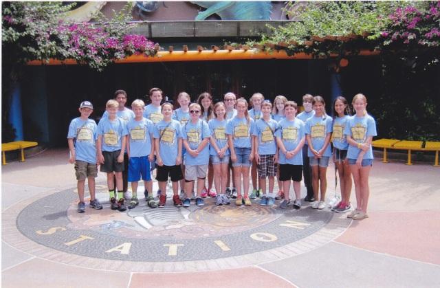 Brendan's last year at Disney Animal Kingdom camp.