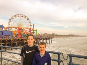 A quick trip to Santa Monica pier!