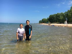 Gillson Beach - Lake Michigan